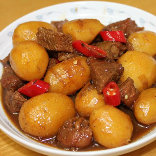 韩式土豆烧牛肉