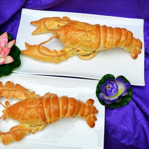 小龙虾面包