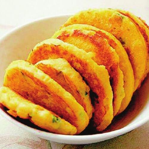 洋葱圈蛋饼