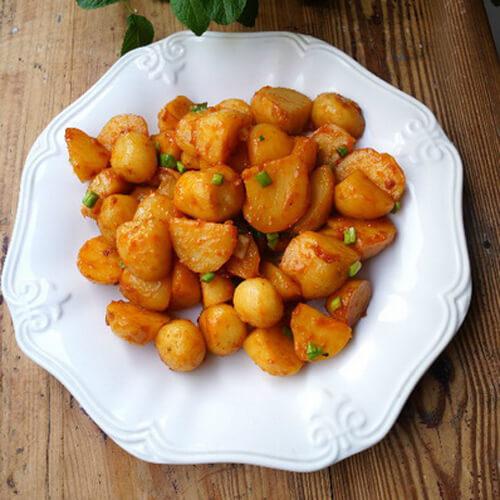 韩式酱土豆