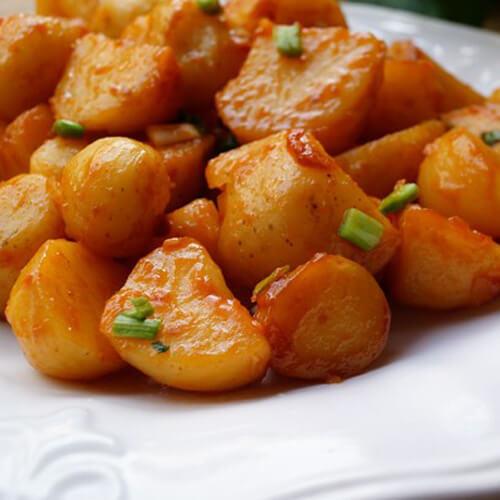 浓香韩式酱土豆