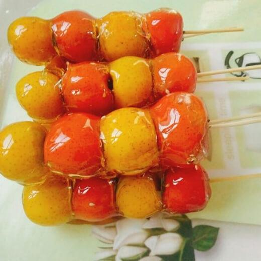 彩色糖葫芦