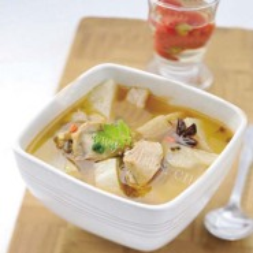 土豆白萝卜DIY营养汤