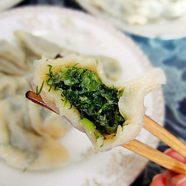 茴香苗馅饺子