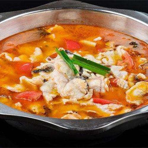 西红柿腐竹焖鲩鱼