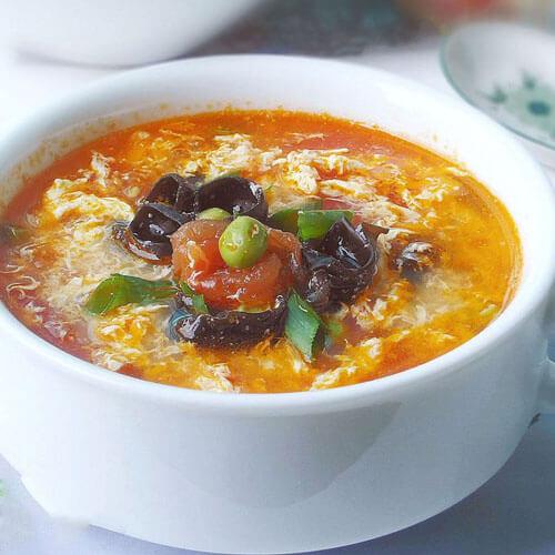 番茄蛋花银耳汤