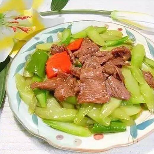 番茄青椒烩牛肉