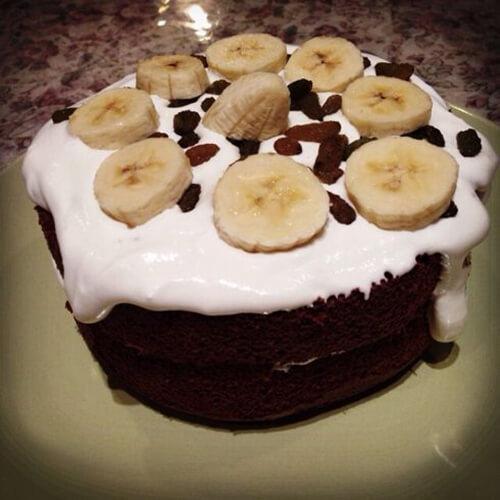 巧克力香蕉奶酪蛋糕