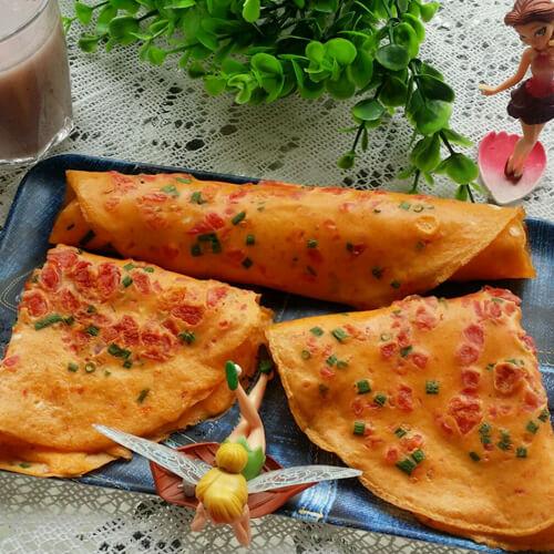 咸香的山东煎饼