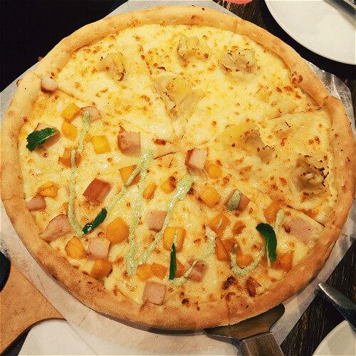 奇异果榴莲披萨