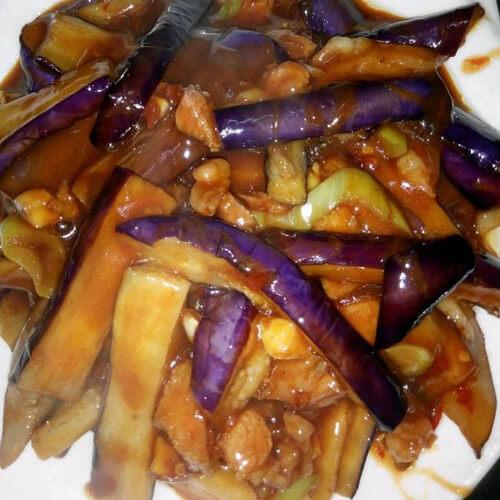 红烧紫茄子