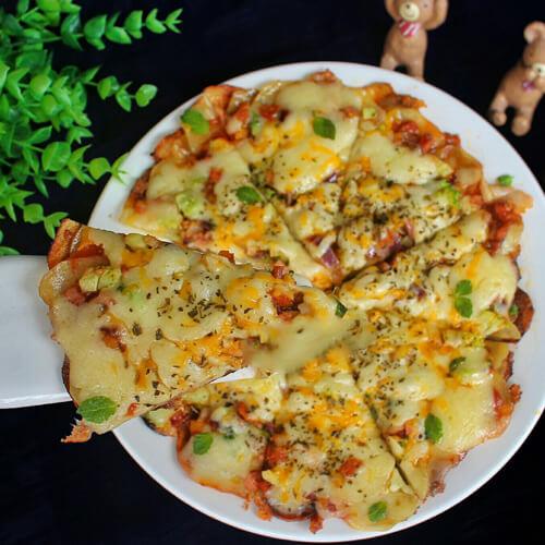 土豆香葱披萨