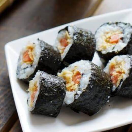 精美三丁肉松寿司
