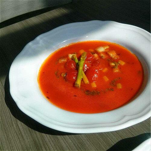 好吃的番茄汤饭