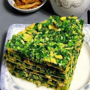 玉米面烀饼