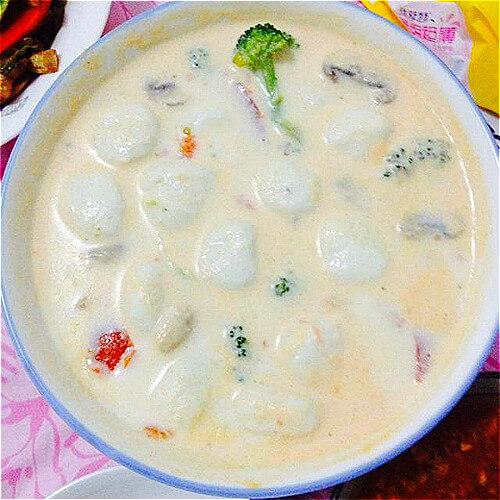 西兰花蘑菇奶汤