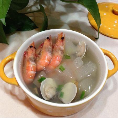 冬瓜蛤蜊肉汤