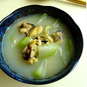 冬瓜淡菜汤