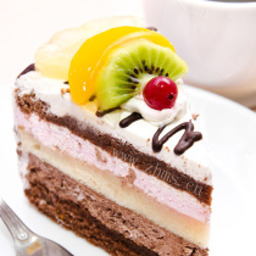 豆沙推推乐蛋糕