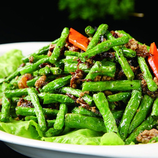 橄榄菜炒苦瓜