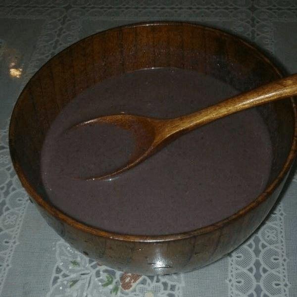 营养花生核桃黑豆浆