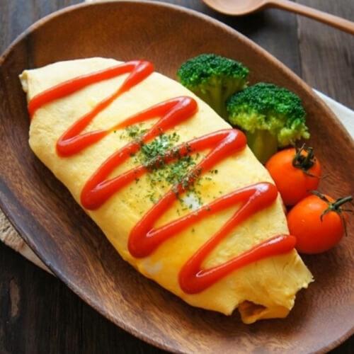 特色美食韩式蛋包饭