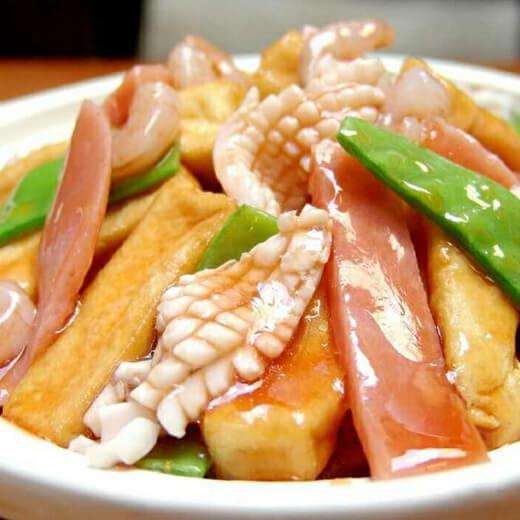 肉片汇青豆