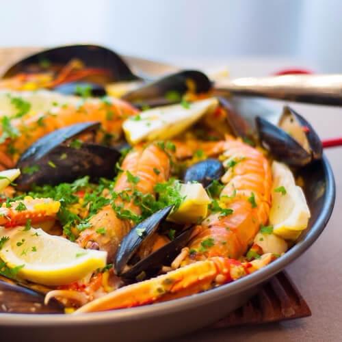 家常西班牙海鲜饭