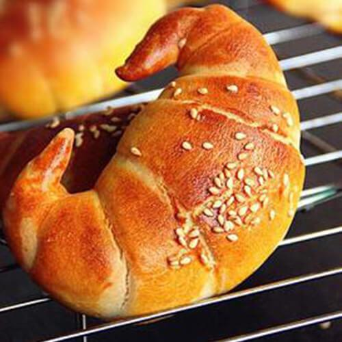 十分喜欢的牛角面包