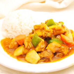 简易美味的泰式土豆咖喱鸡