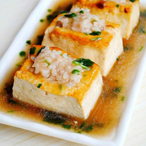 糯米酿豆腐