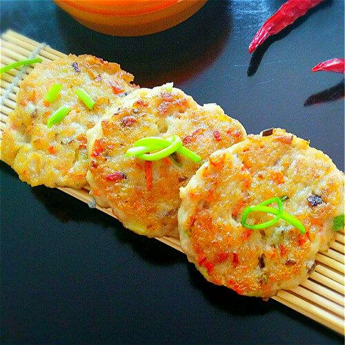 豆腐饼(电饼铛版)