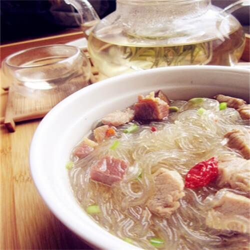 茶香三丁绿豆粉