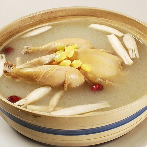 真营养薏仁洋参土鸡汤