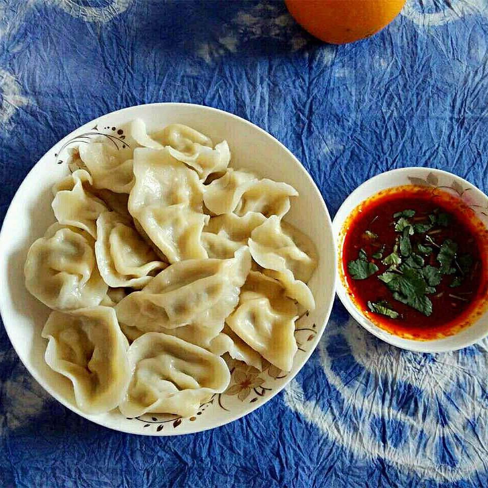 韭黄三鲜馅饺子