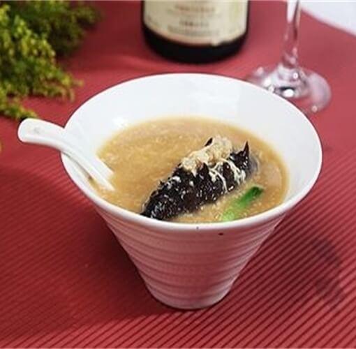 海参疙瘩鸡蛋汤