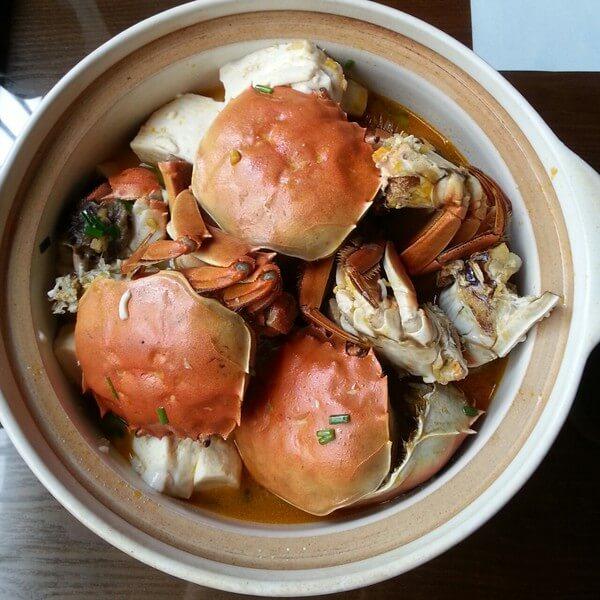 螃蟹豆腐姬菇羹