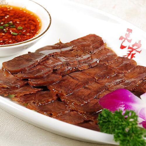 冷盘花朵五香牛肉