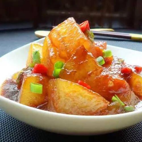 常吃不腻的红烧冬瓜
