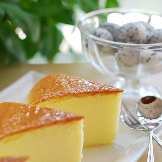 简单的轻乳酪蛋糕
