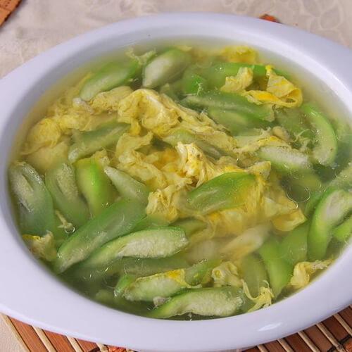 好喝的丝瓜蛋汤