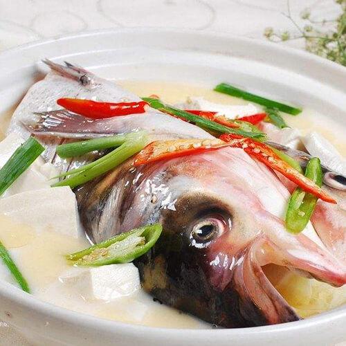 豉香胖头鱼炖豆腐