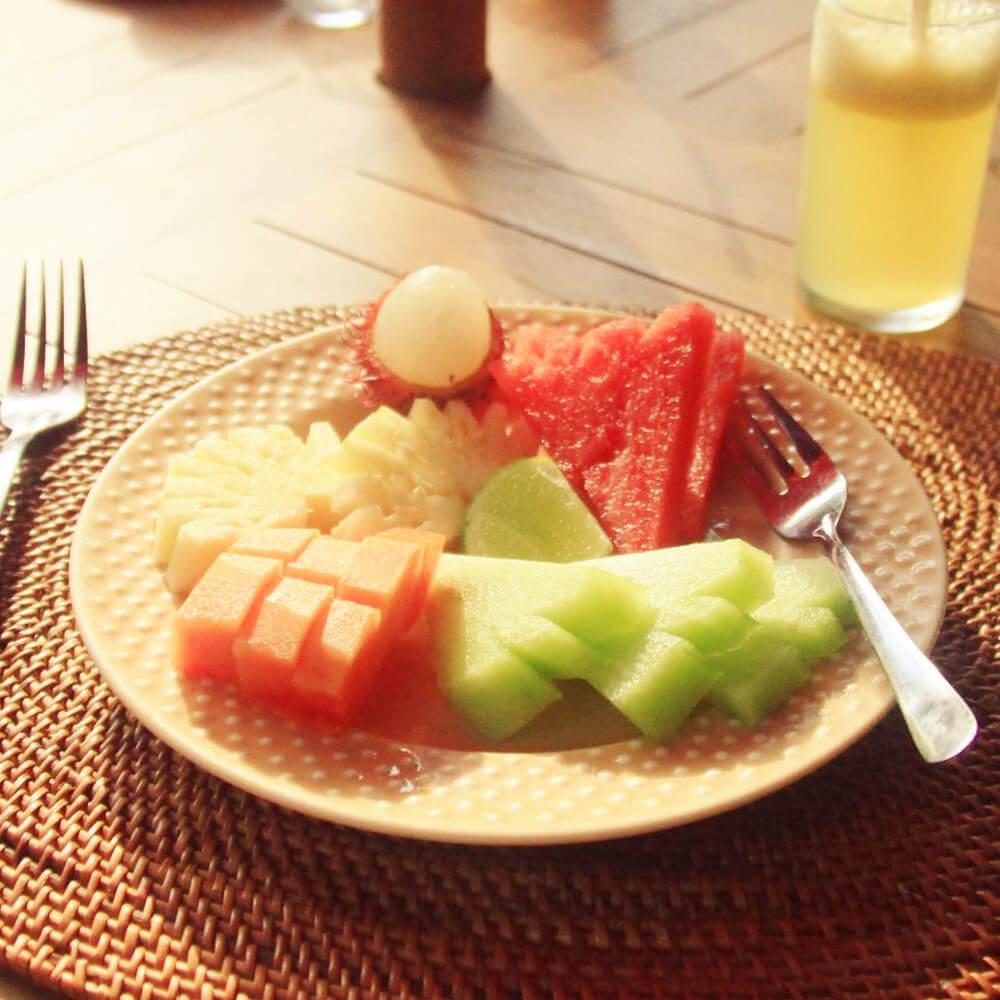 爱心拼盘早餐
