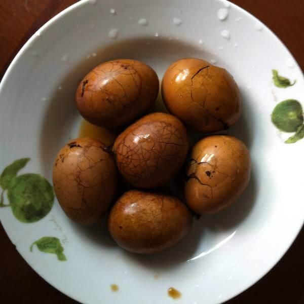 美味的红糖茶叶蛋