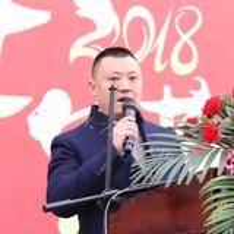 四川省菌类产业商会会长纪昌联出席德阳新春年货购物节