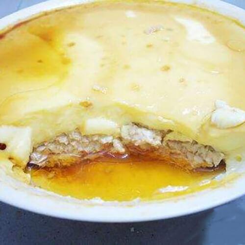 鸡蛋玉米蒸肉饼