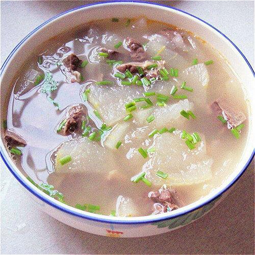 肉块炖冬瓜