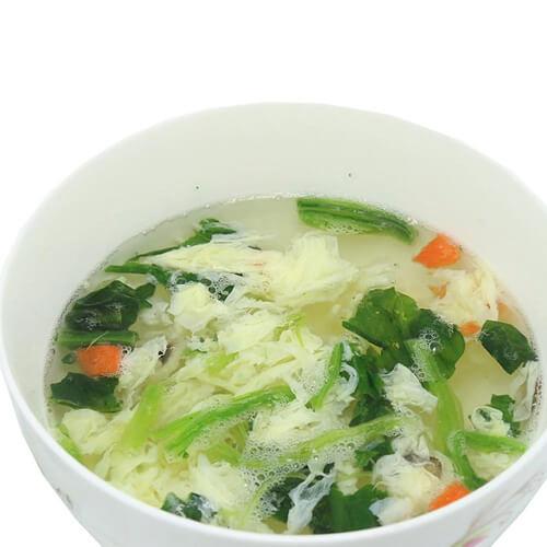 家常菜菠菜鸡蛋汤