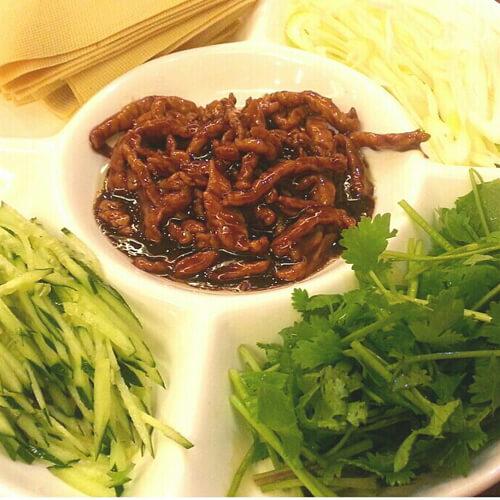 东北家常版京酱肉丝
