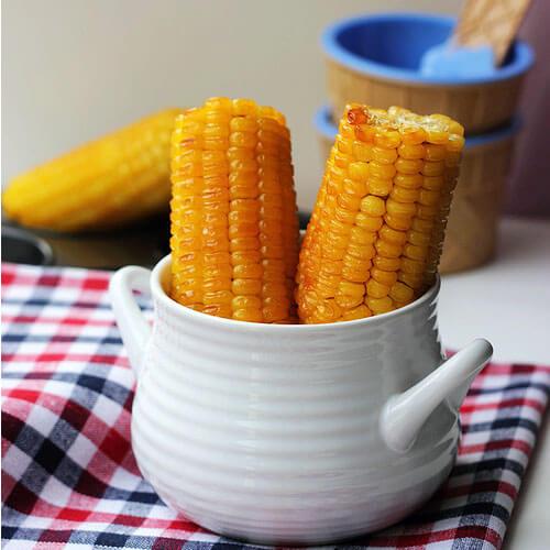 简单版奶油烤玉米